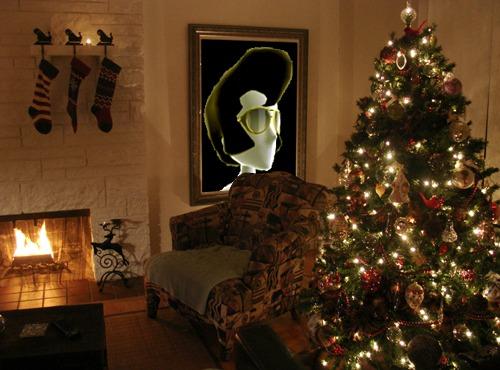 pompadour christmas spirit