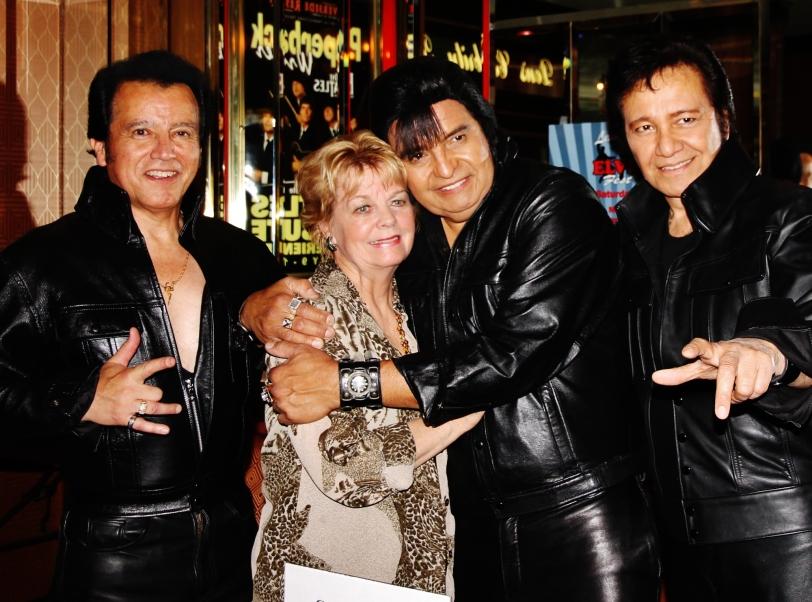 L-R Athony Alcala, Cynthia Pepper, Fred Cineros, Fernie Ramirez