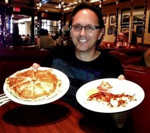 Me w/Du-par's pancakes.