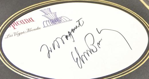 The Promise Elvis Autograph